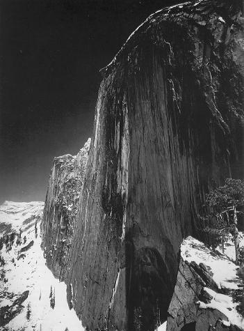 Ansel Adams, Monolith, The Face of Half Dome