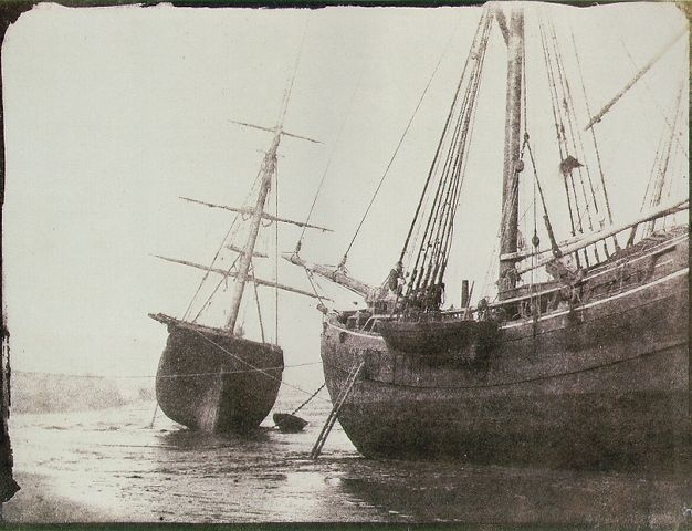 Ships at Low Tide