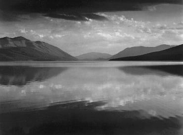 Ansel Adams, Lake MacDonald, Glacier National Park