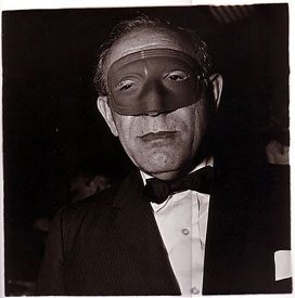 Masked man at a ball
