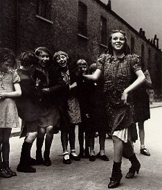 East End girl, doing the Lambeth Walk