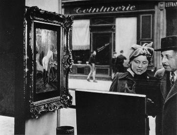 Sidelong glance de Robert Doisneau (1948)