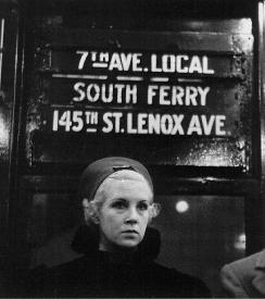 Walker Evans, Subway Portrait