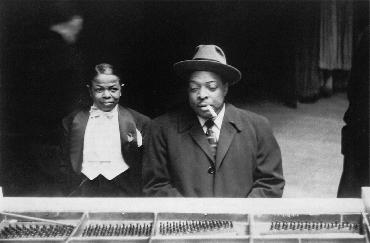 PeeWee Marquette and Count Basie