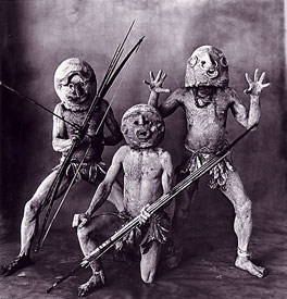 Three Asaro Mud Men